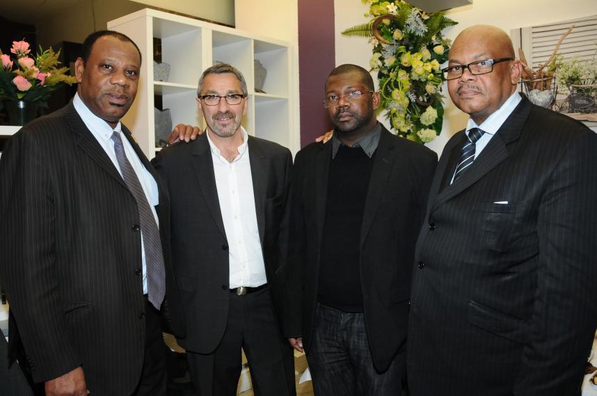 J. Ambrosio        JC. Bertrand       F. Moutoussamy        R. Silo