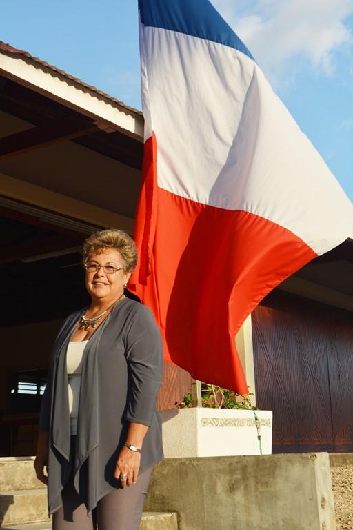 Bianca Henin la représentante en Nouvelle Caledonie