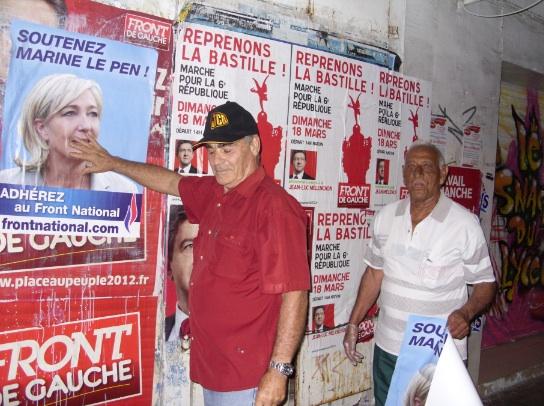 Marc Guille le secrétaire départemental du FN en Guadeloupe
