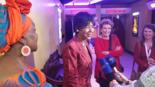 La presse sud-africaine à l'écoute de la réalisatrice