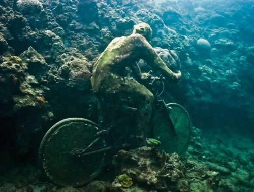 Sculpture sous marine de Jason de Caires Taylor