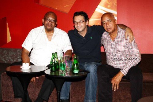 René Silo, Joel Din et Eric Paulin