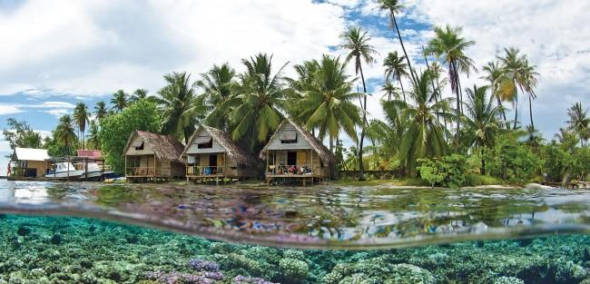 Une vision paradisiaque de Tahiti