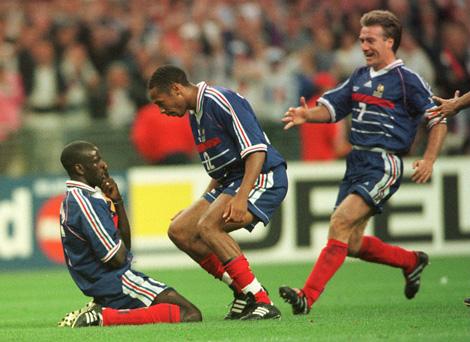 Soccer - World Cup France 98 - Semi Final - France v Croatia