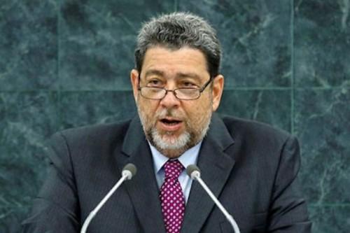 Ralph Gonzales le premier ministre de Saint Vincent et des Grenadines