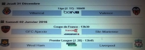 Le match sera en direct sur France O et Eurosport