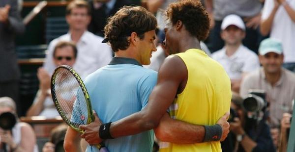 Federer, Monfils... et Jacques Gillot
