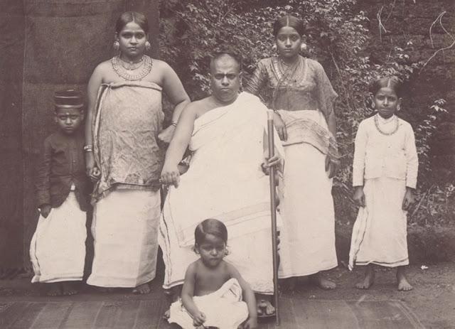 A Brahmin family