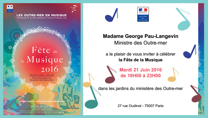 music outre mer