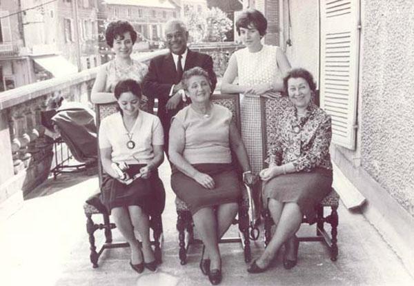 Gaston Monnerville à Saint Céré en 1965 @Senat