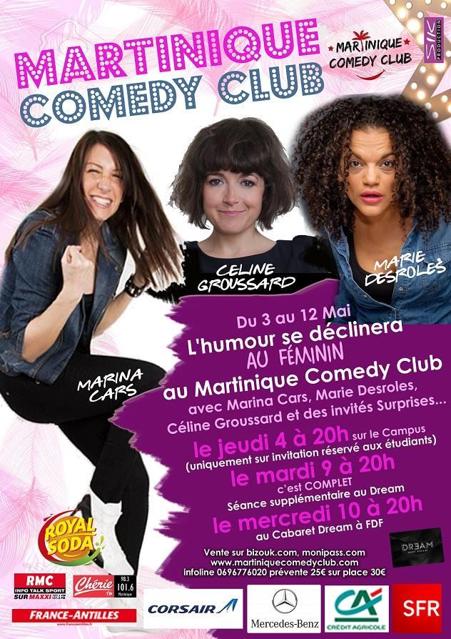 martinique comedy club
