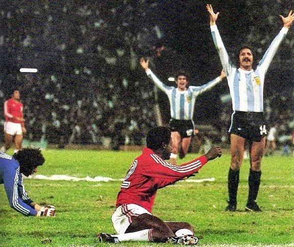 Football et cadavres exquis coupe du monde de football - Finale coupe du monde 1978 ...