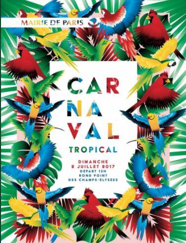 Le carnaval tropical aux champs elys es97land 97land - Carnaval tropical de paris 2017 ...